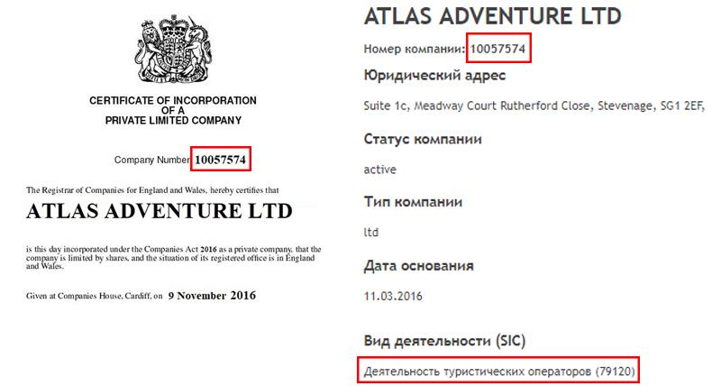 atlas adventure ltd лохотрон